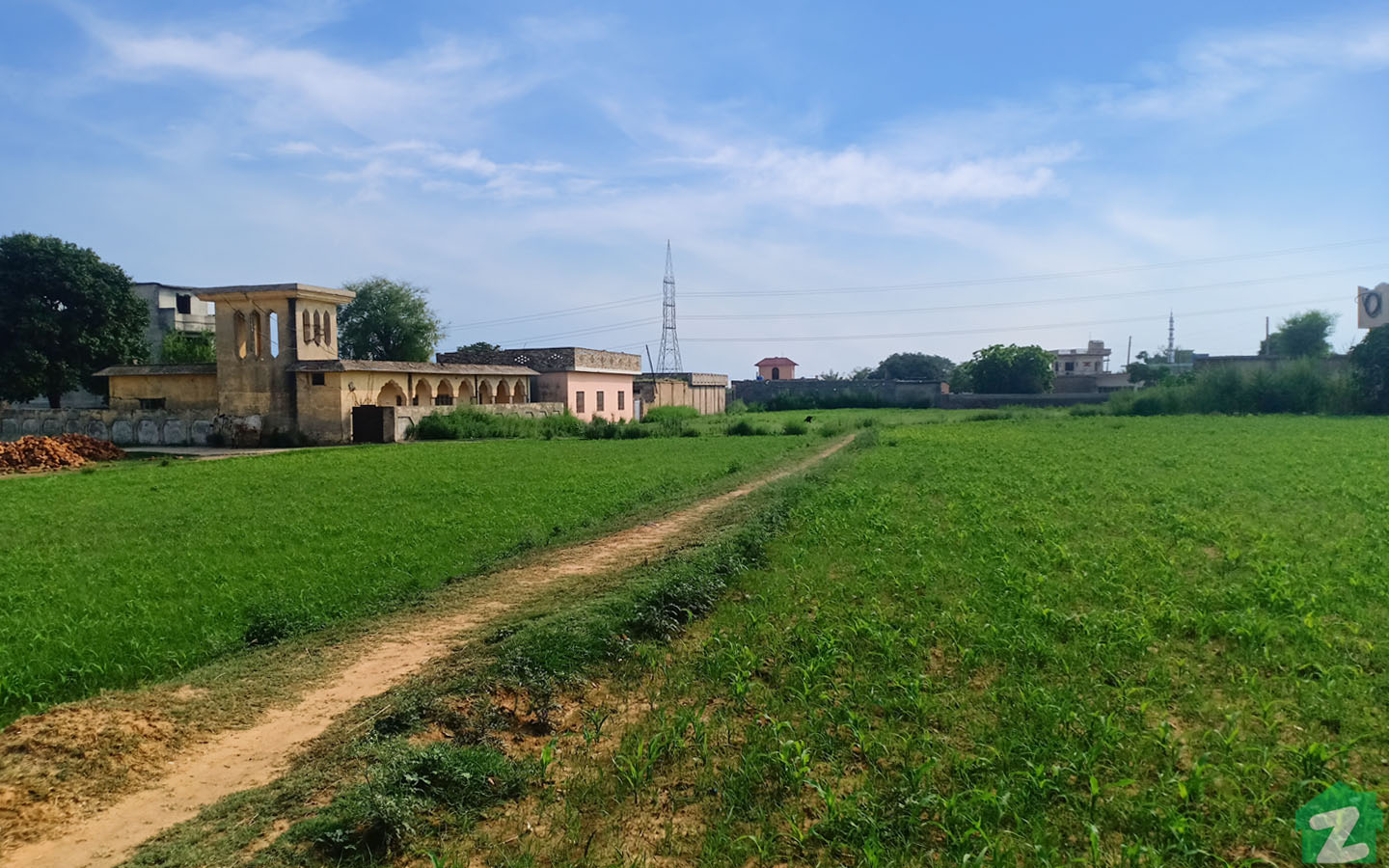 Agriculture land is also available for sale on Chakbeli Road