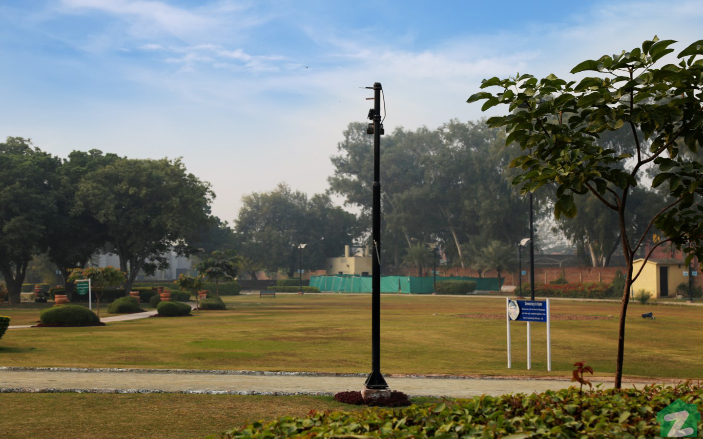 beautiful and serene parks in and near Phase 7, DHA Lahore