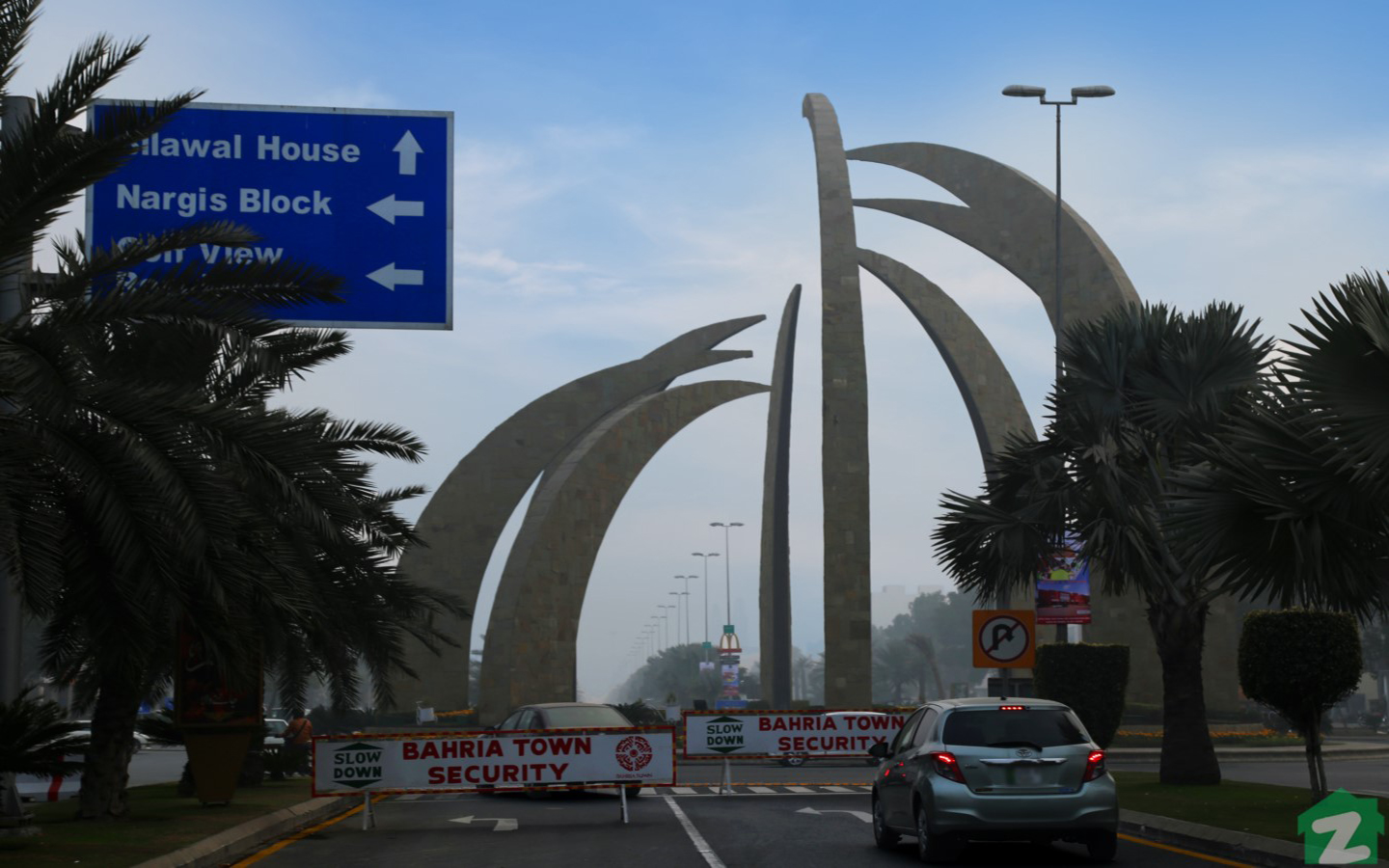 Bahria Town Lahore is a secure gated community