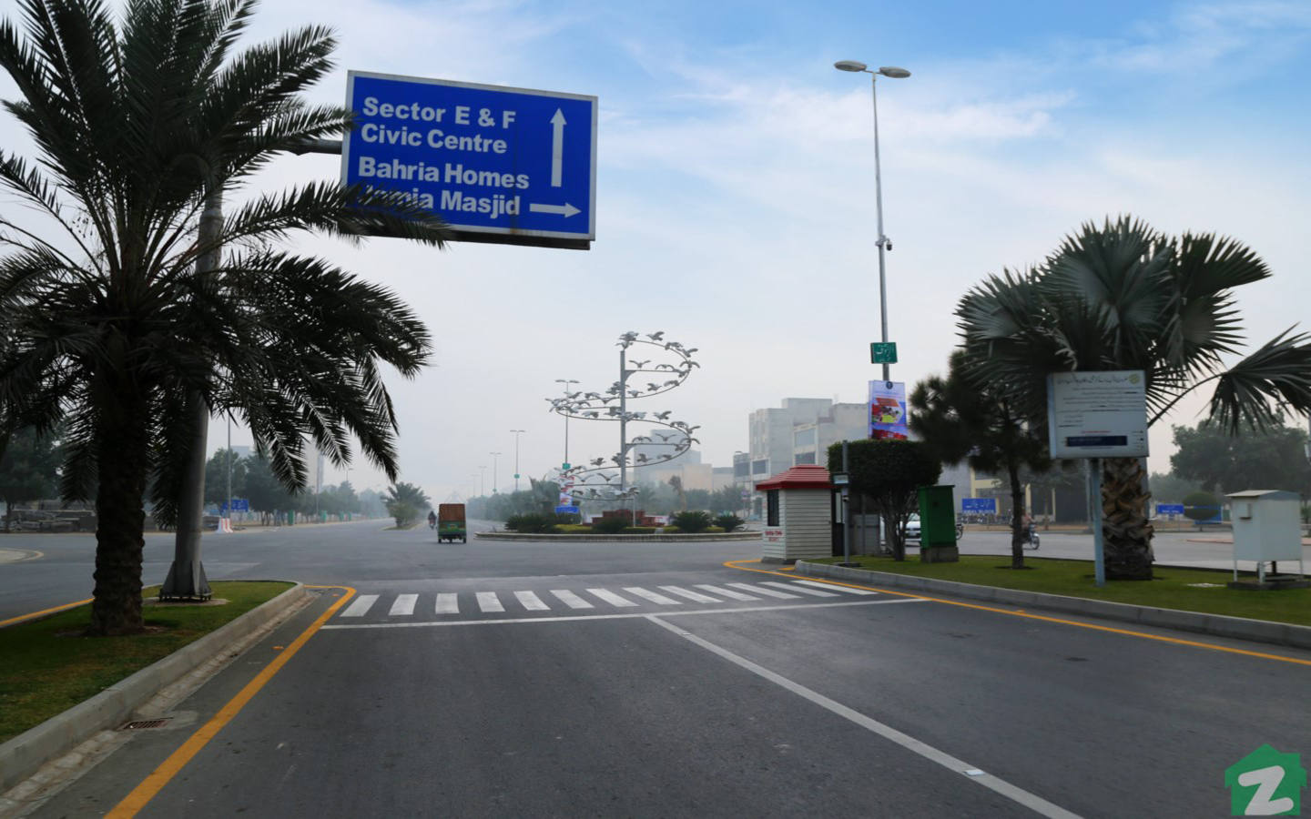 Residents will find almost all basic utilities in Sector E, Bahria Town Lahore