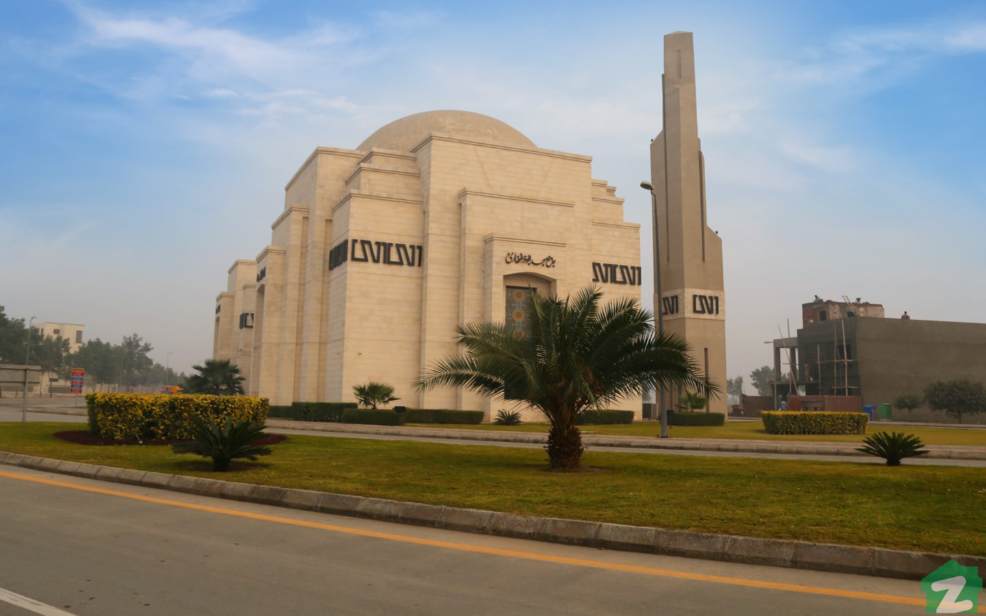Jamia Mosque Abu Zar Ghafari can cater 7,000 worshipers at once