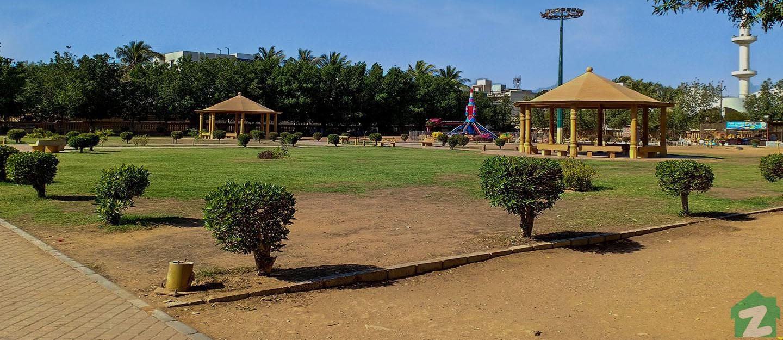 Tikon Park in North Karachi