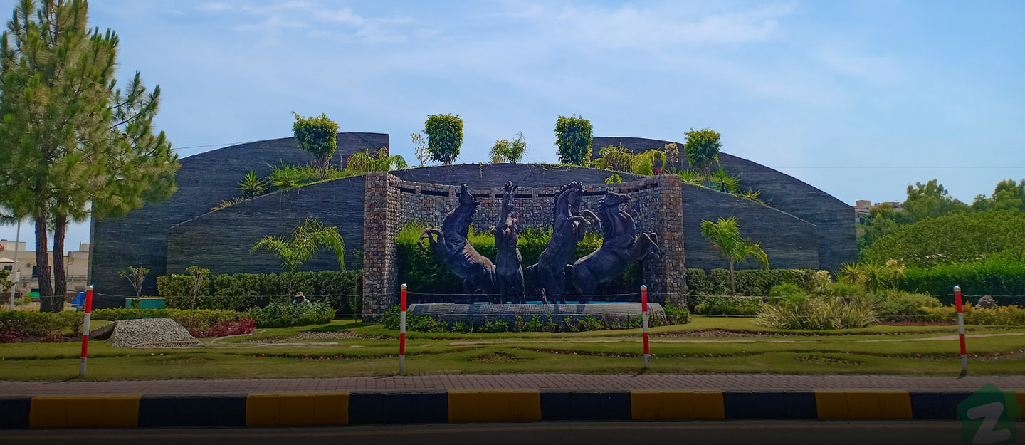 Bahria Town offers luxurious lifestyle along with all imaginable amenities