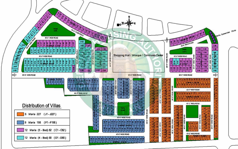 DHA Villas Multan Masterplan