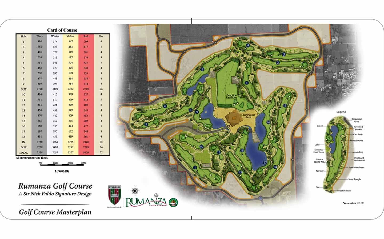 Rumanza Golf Course Masterplan