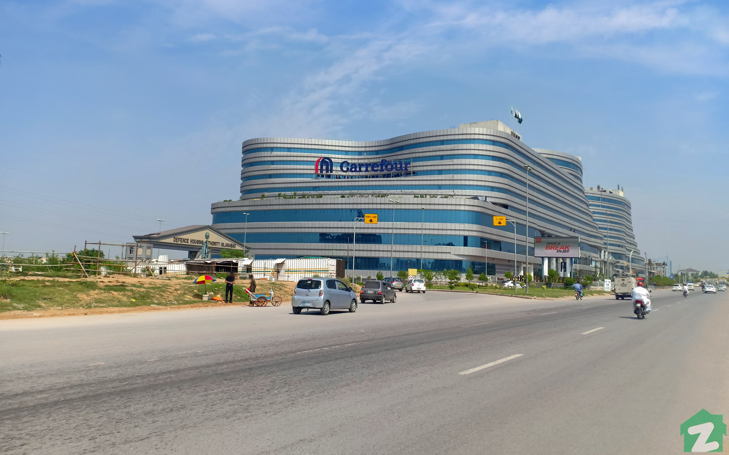 Residents of Naval Anchorage, Islamabad can find a wide range of products in Giga Mall