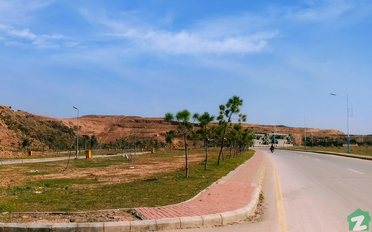 Green spaces can be found across DHA Phase 3 Islamabad