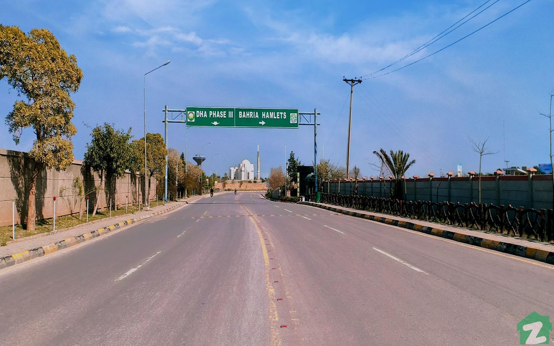 DHA Phase 3 Islamabad is near Bahria Hamlets