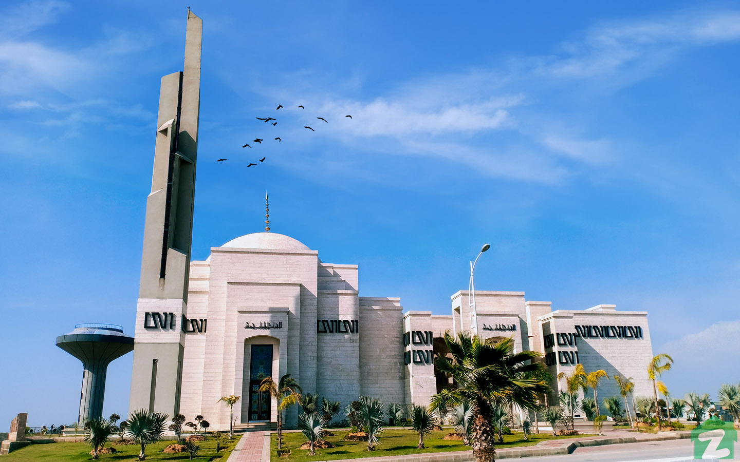 Serene City mosque is spacious where locals can pray easily