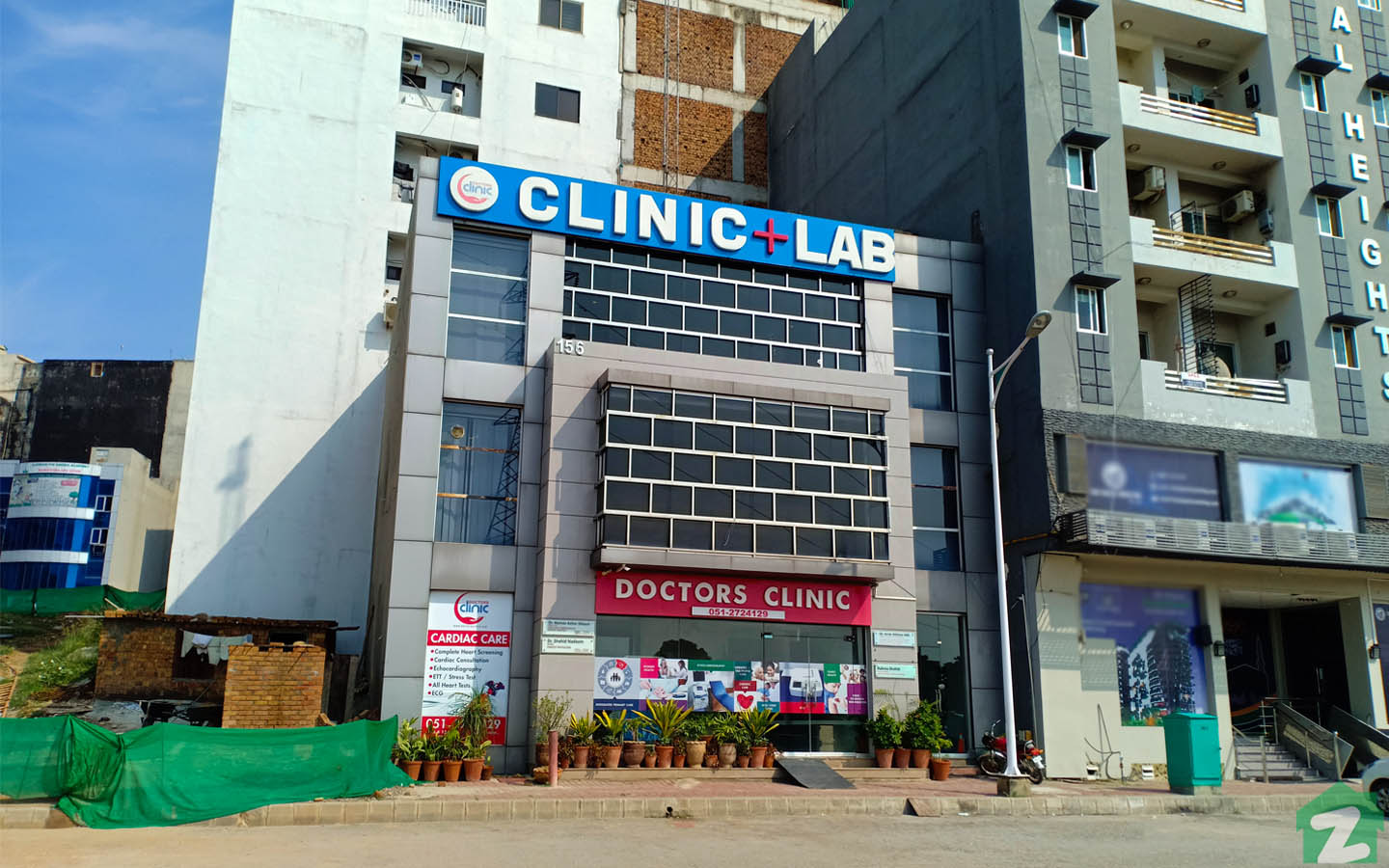 Doctors Clinic is available in Bahria Town