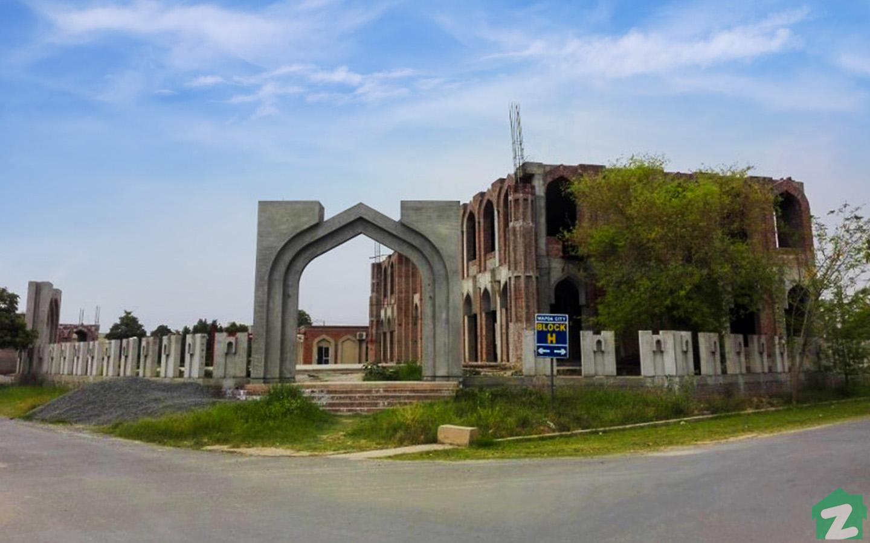 Mosque in Wapda City Faisalabad