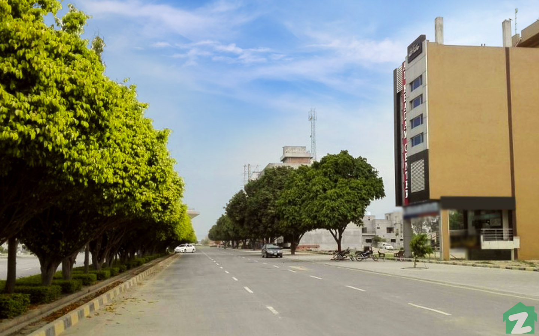 Entrance of Wapda City Faisalabad