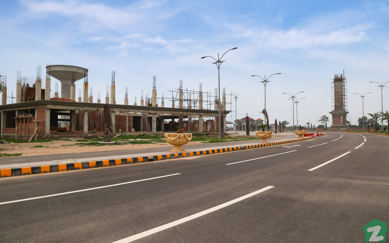 Commercial Area of Al Noor Orchard Lahore