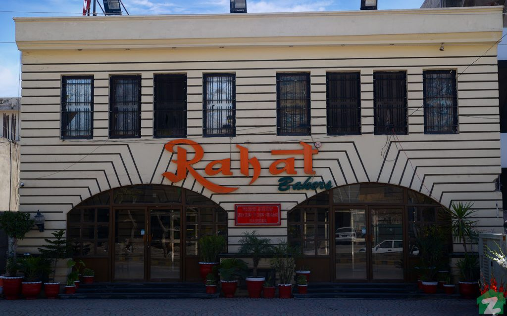 Residents can buy baking goodies from Rahat Bakery, pinned in PWD Housing Society