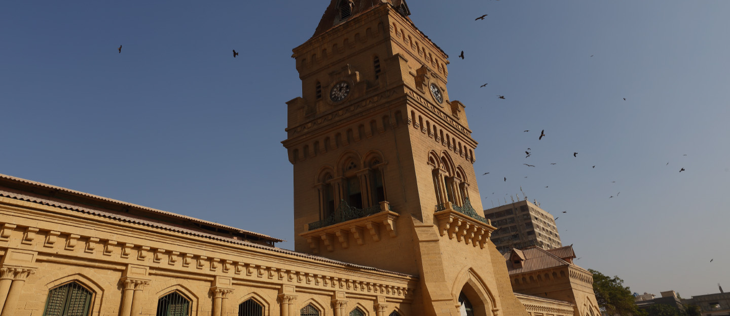 View of Empress Market in Sadder Town Karachi
