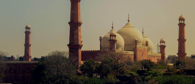 A breath-taking view of Badshahi Mosque Lahore