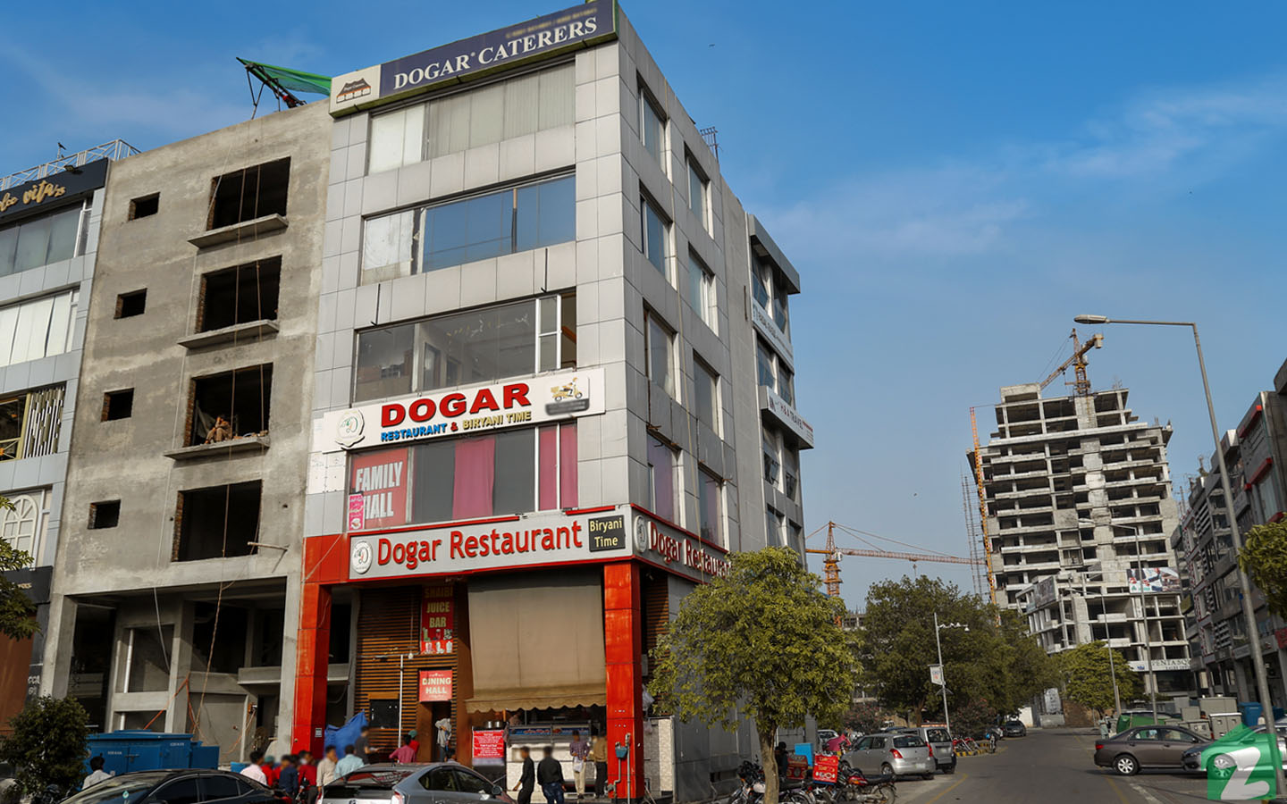 Residents of Ring Road can access Dogar Resturant, sited in Phase 5, DHA