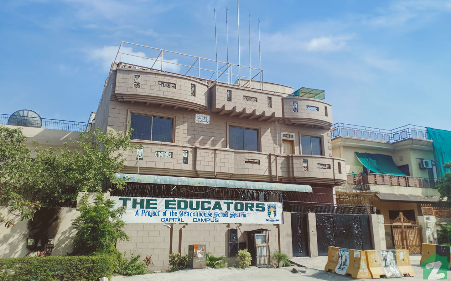 The Educator School is available in G-10 Islamabad