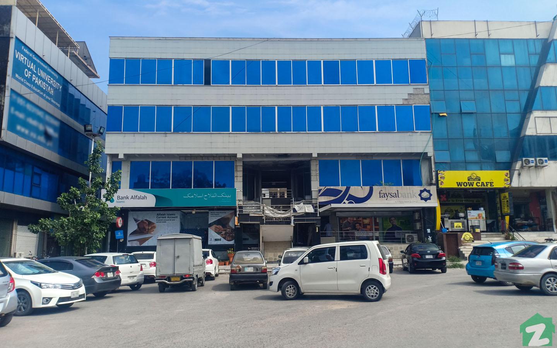 The G-10 Markaz host several popular banks