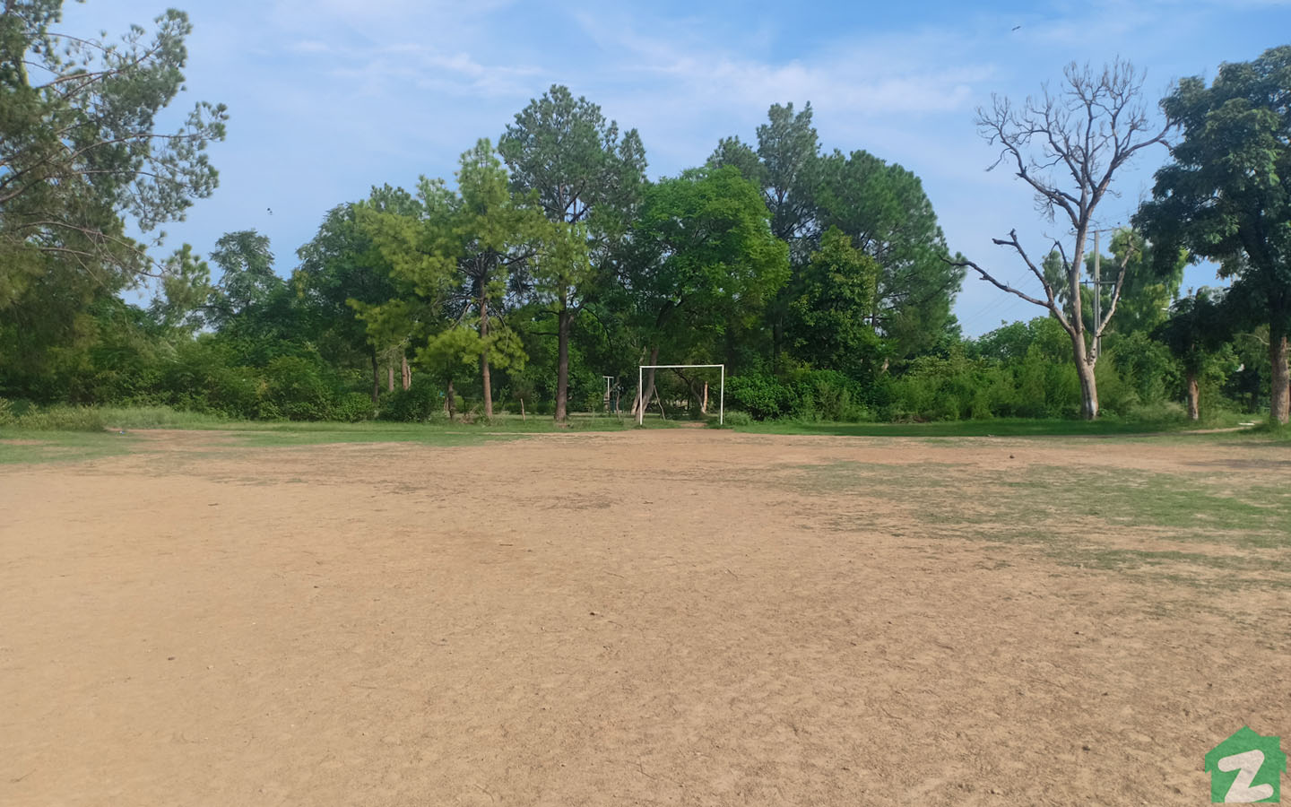 Football ground is also available for kids in the society