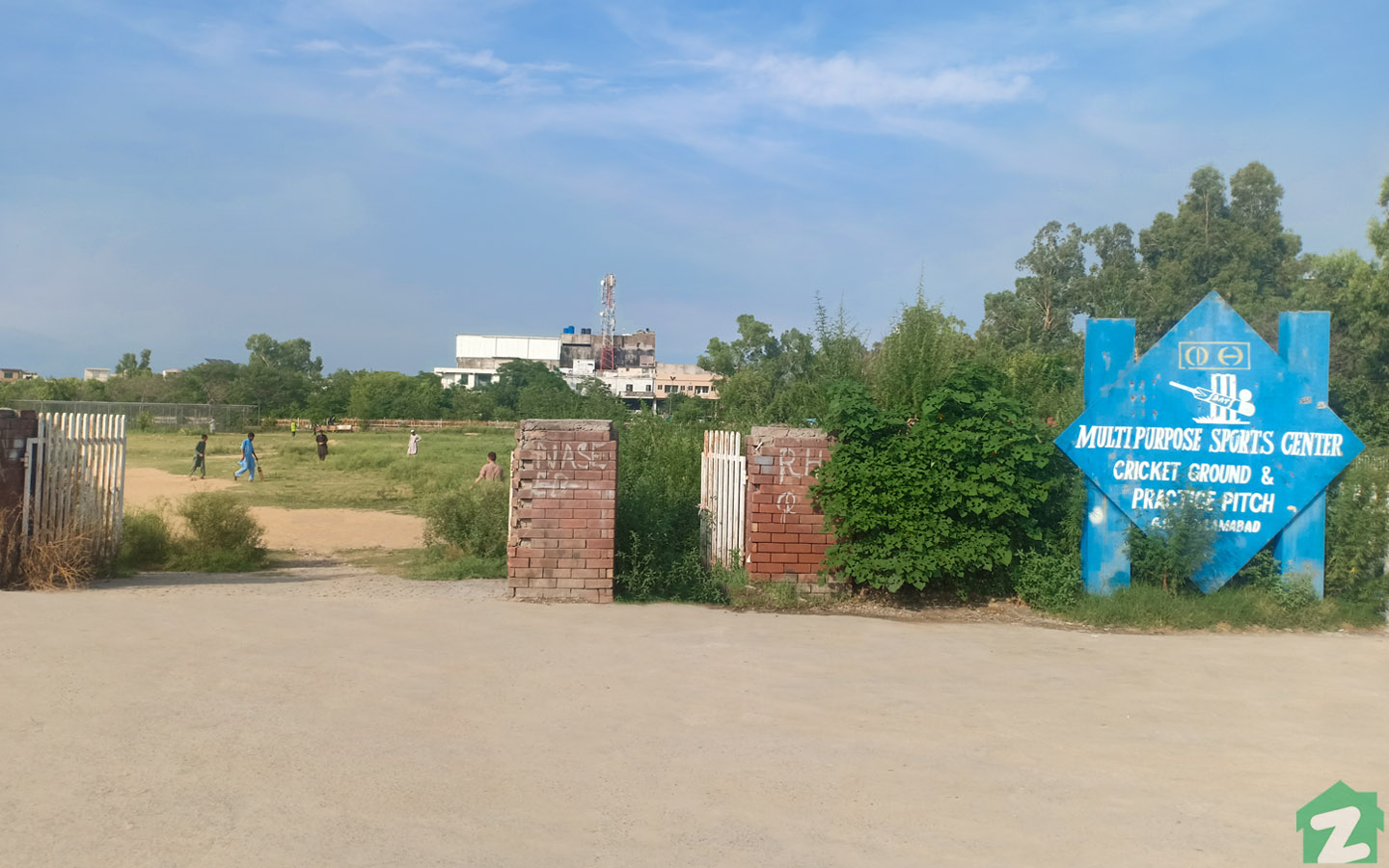 Hamza Ground in G-10 is the best option to enjoy sports activities