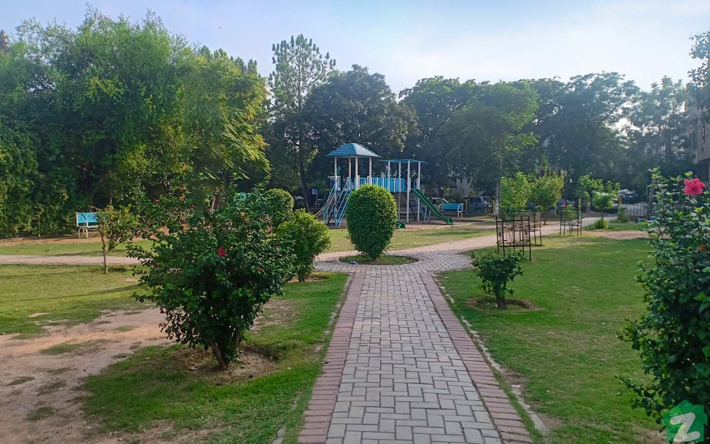 A well-maintained park in society