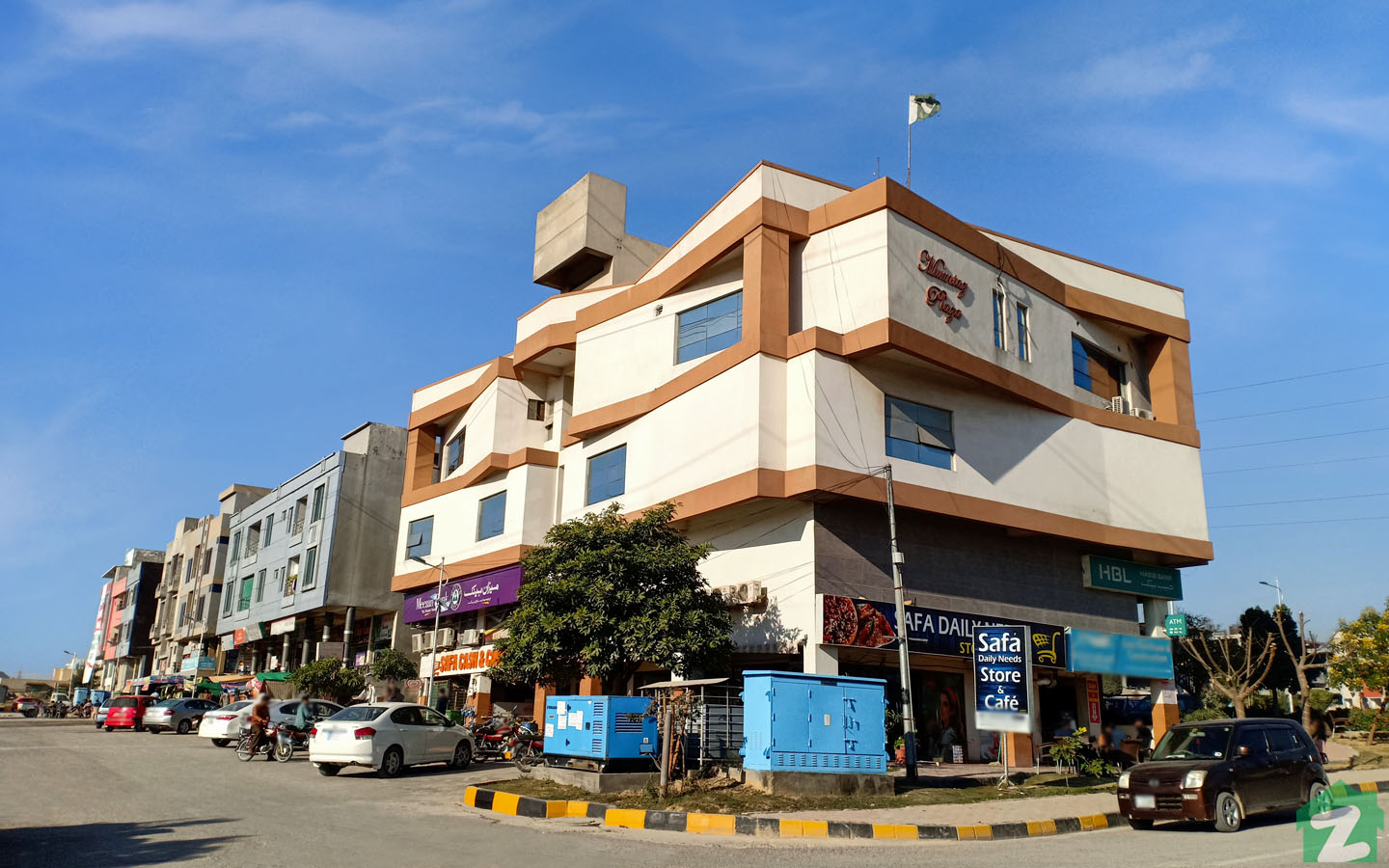 commercial area in B-17 Islamabad