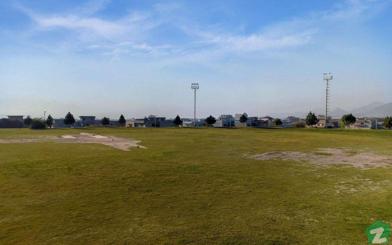 sports facilities in B-17 Islamabad