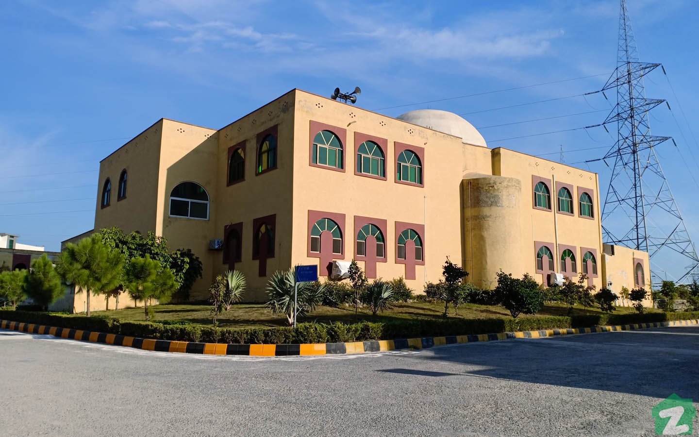 mosque in B-17 Islamabad