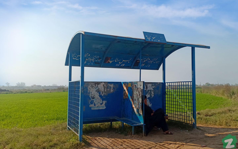Bus Stops near Park Road, Islamabad