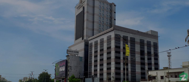 Bahria Town Tower Tariq Road