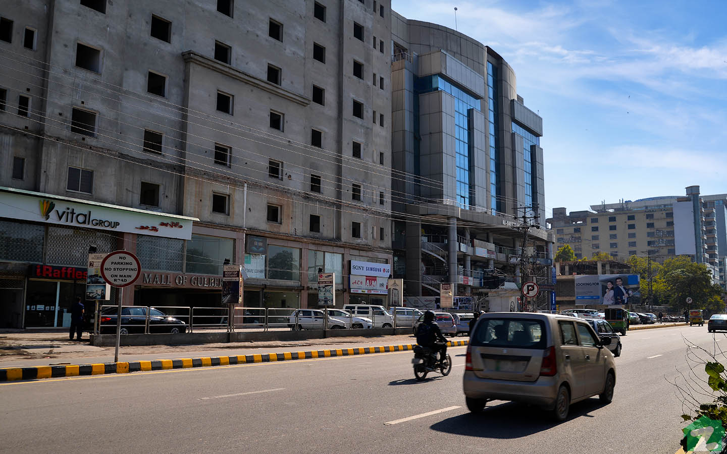 From Mall of Gulberg to Liberty Market, a number of shopping areas are situated here.