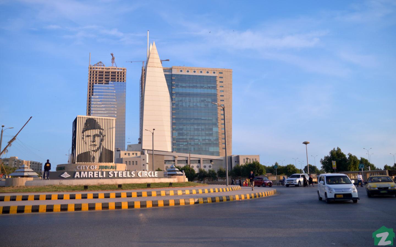 Dolmen City Mall in DHA Karachi Near Mehran Town, Korangi Karachi