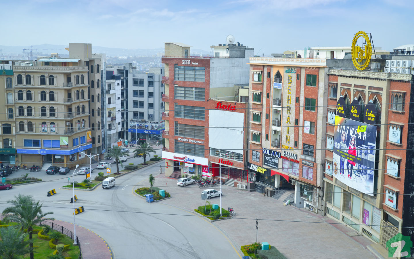 Commercial property in Phase 6, Bahria Town
