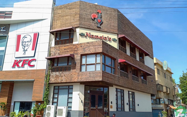 Nando's Restaurant in Jamshed Town Karachi