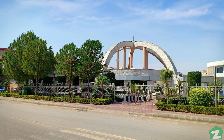 Quba Mosque in Phase 6, Bahria Town, Rawalpindi