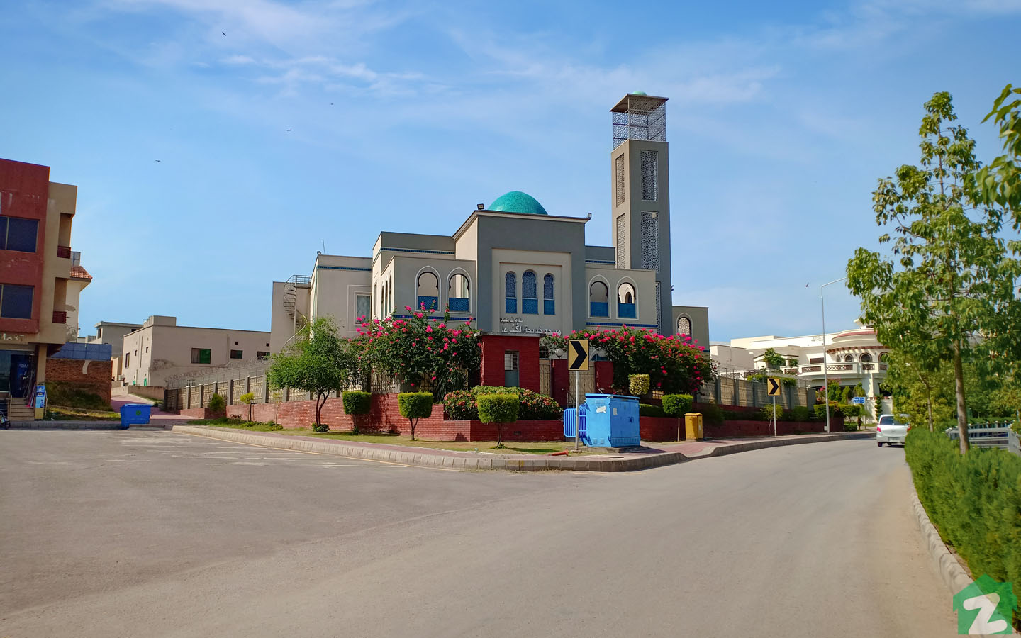 Residents can also offer prayers in nearby mosques