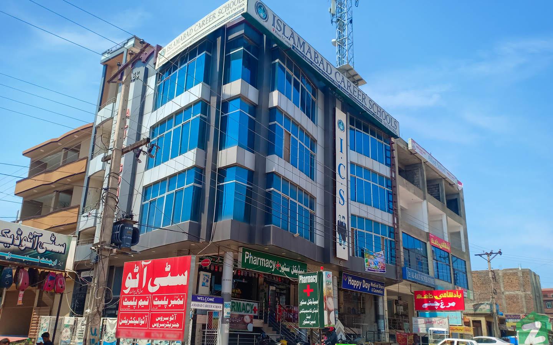 market in Ghauri Town Islamabad