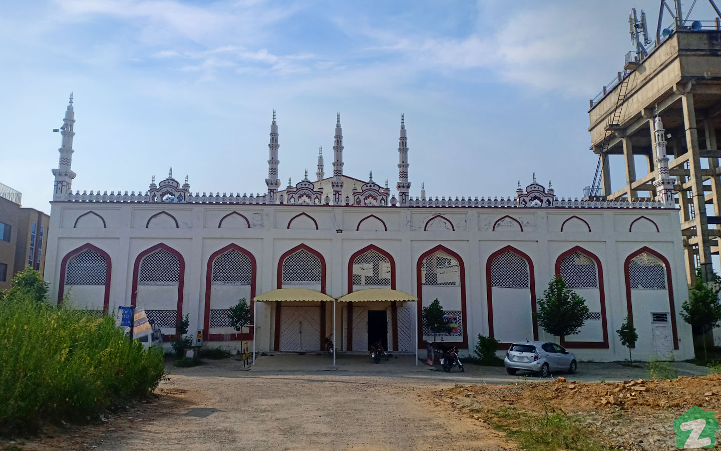 Locals can pray easily in the mosques situated in G-15 Islamabad