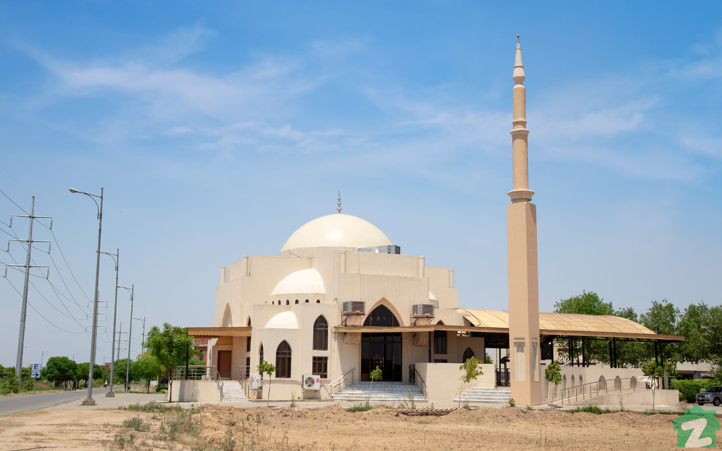 mosque in Phase 6, DHA Lahore