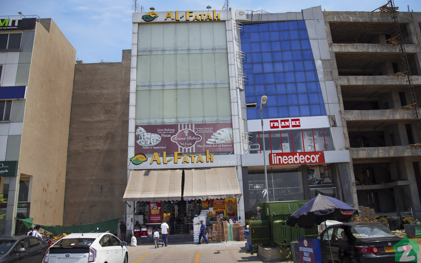 market in Phase 6, DHA Lahore