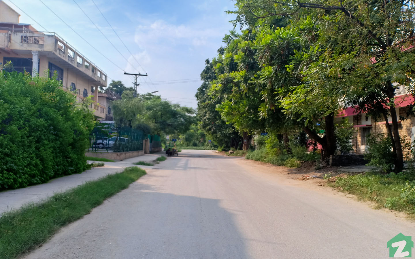 street view of Sector I-10 Islamabad