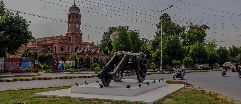 Sadiq Dane Highschool is situated near Block A, Model Town Bahawalpur