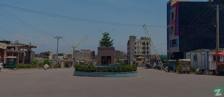 entrance of Ghauri Town Islamabad