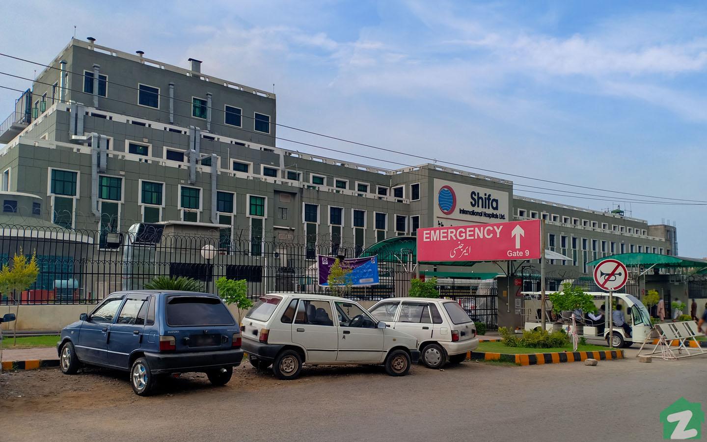 hospitals in Sector I-10 Islamabad