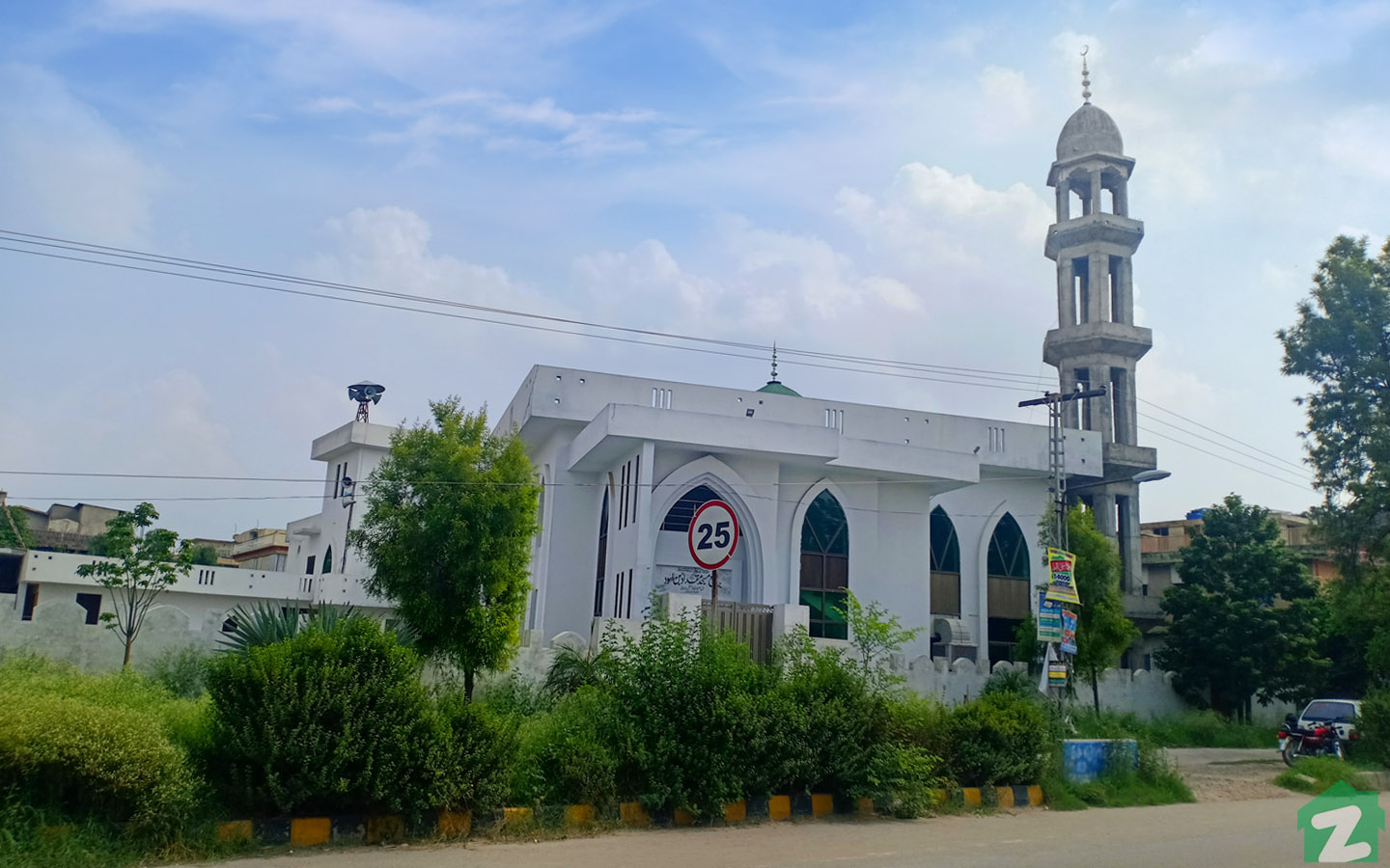 Mosque in Sector I-10 Islamabad
