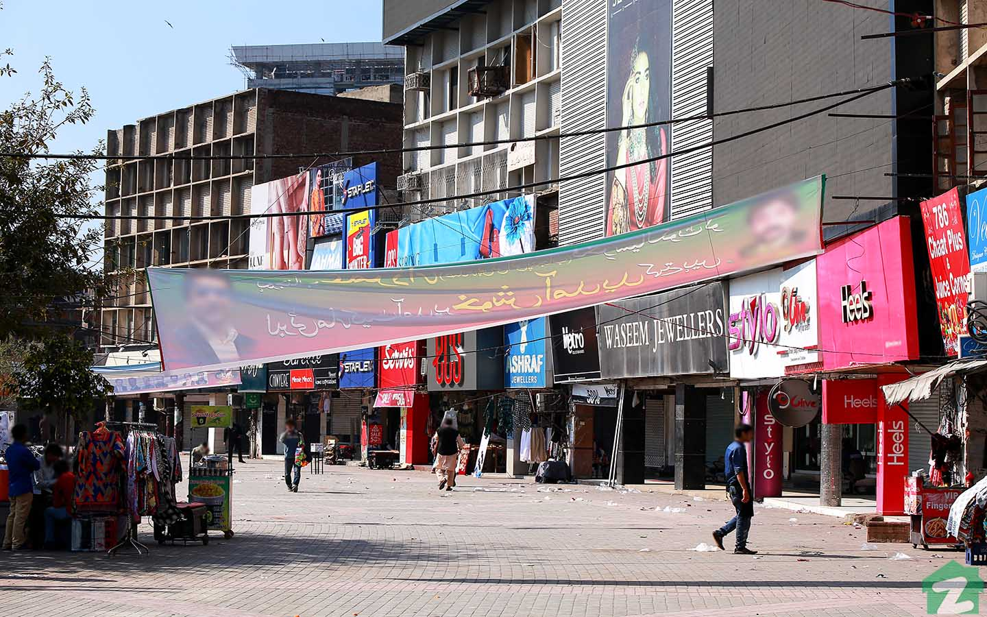 Liberty Market Lahore is located near Jail Road