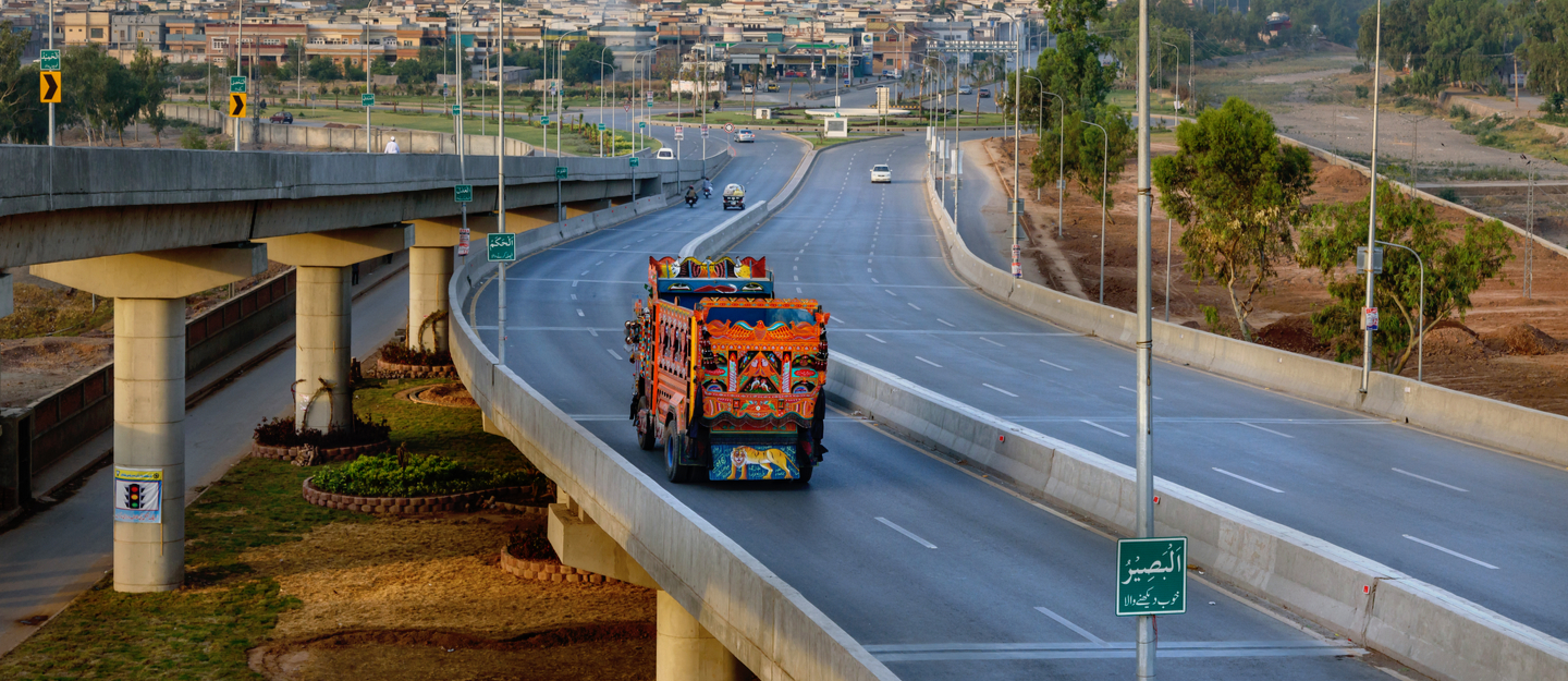 Northern bypass, Peshawar connects N-55 Indus Highway, Jamrud area of Khyber Agency, and Mohmand Agency to Peshawar-Islamabad M-1 Motorway.