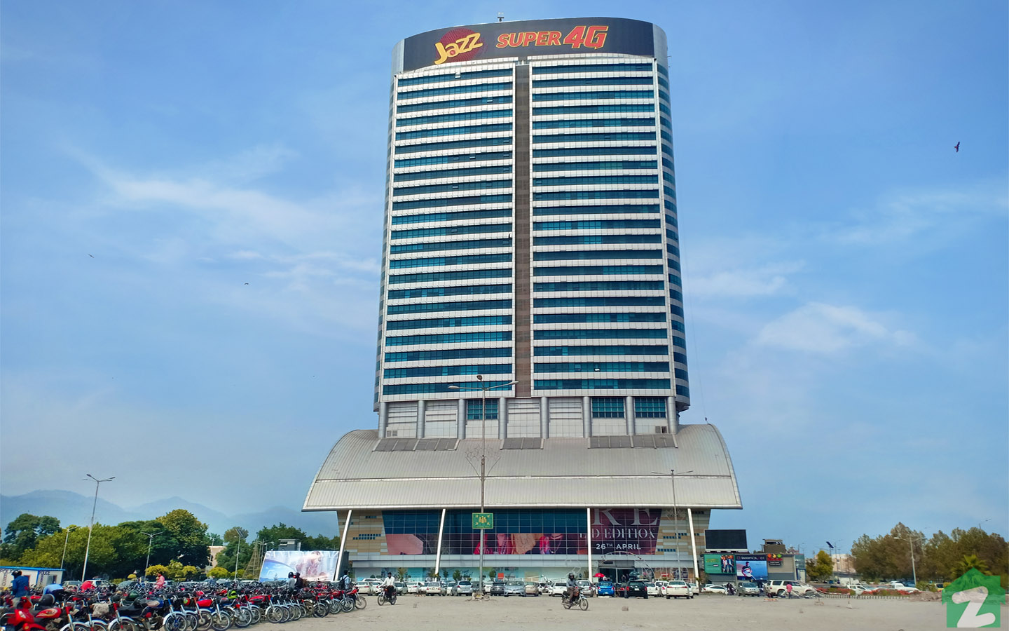 Centaurus Mall is a famous shopping and residential complex situated in Blue Area, Islamabad