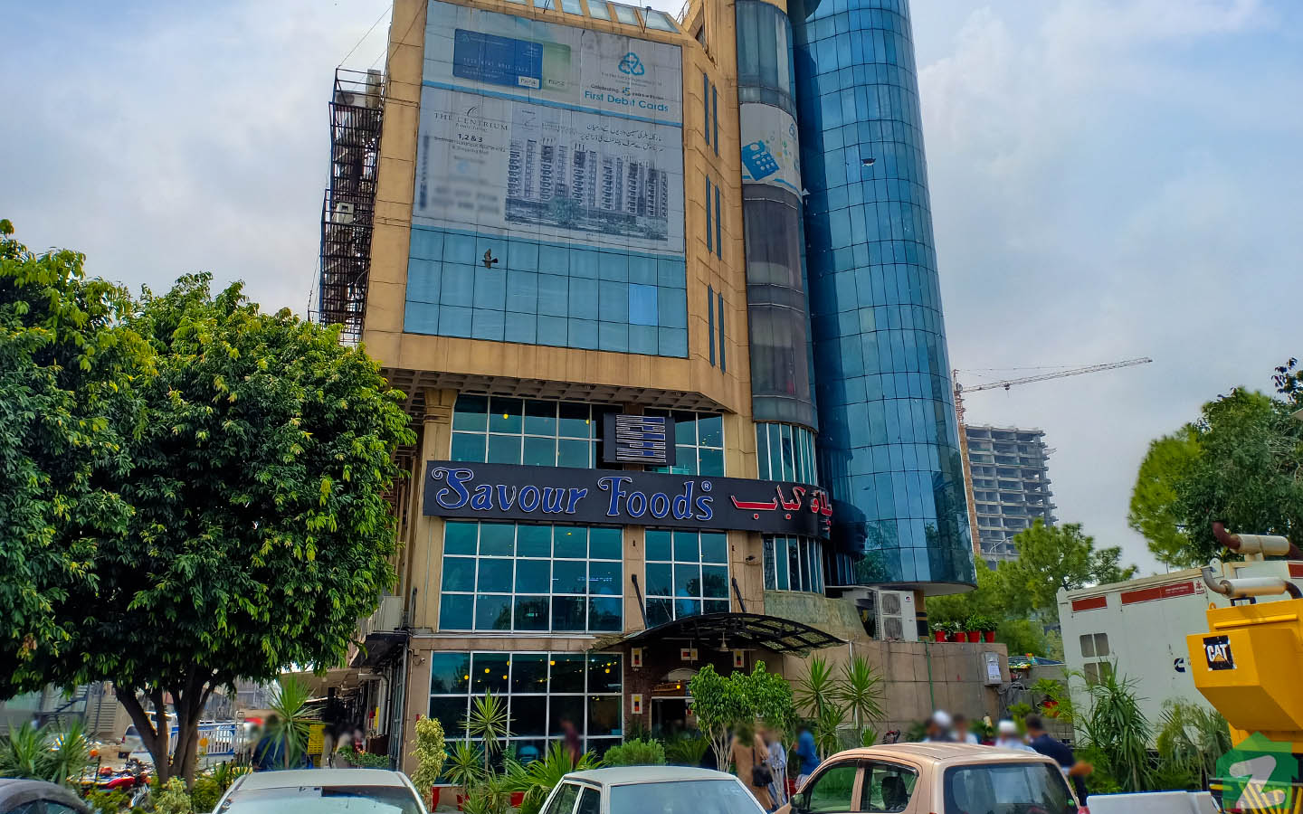 Eating spots of Blue Area Islamabad